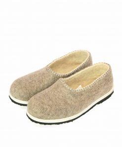 Felt organic slippers