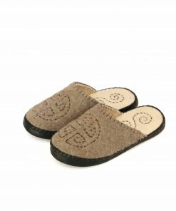 Mongolian felt slippers