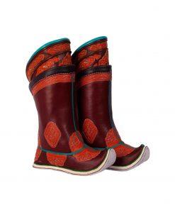 Mongolian boots 32 ornaments