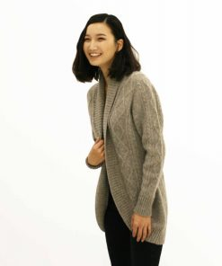 Yak wool cardigan