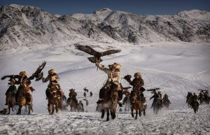 The eagle huntress Aisholpan and the history of Mongolian falconry